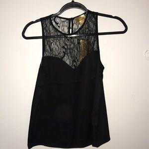 NWT Black lace blouse H&M
